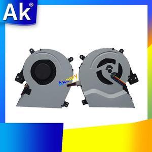 Novo ventilador de refrigeração da cpu do portátil para For Asus x451ma x415 x415c x415ca x415e f551ma f551ca computador portátil processador refrigerador 4 pinos