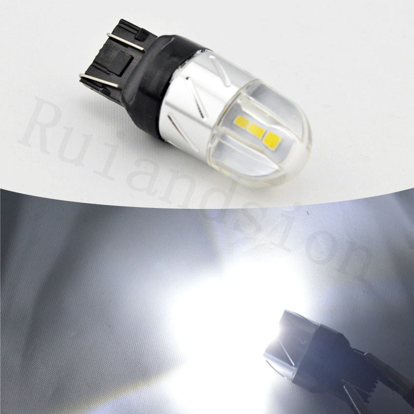 1pc 12V 24V T20 7443 7440 White Amber Red 4W 3030 6SMD LED Bulbs For Car LED Bulbs W21W W21/5W For Front Turn Signal Lights водонагреватель накопительный zanussi zwh s 10 melody u yellow