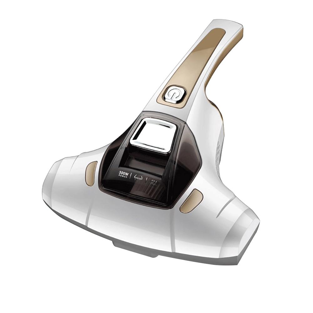 Alfawise Mite Removal Instrument Household Vacuum Cleaner Mini Handheld Vacuum Cleaner Home Mites Bacteria Dandruff Kill