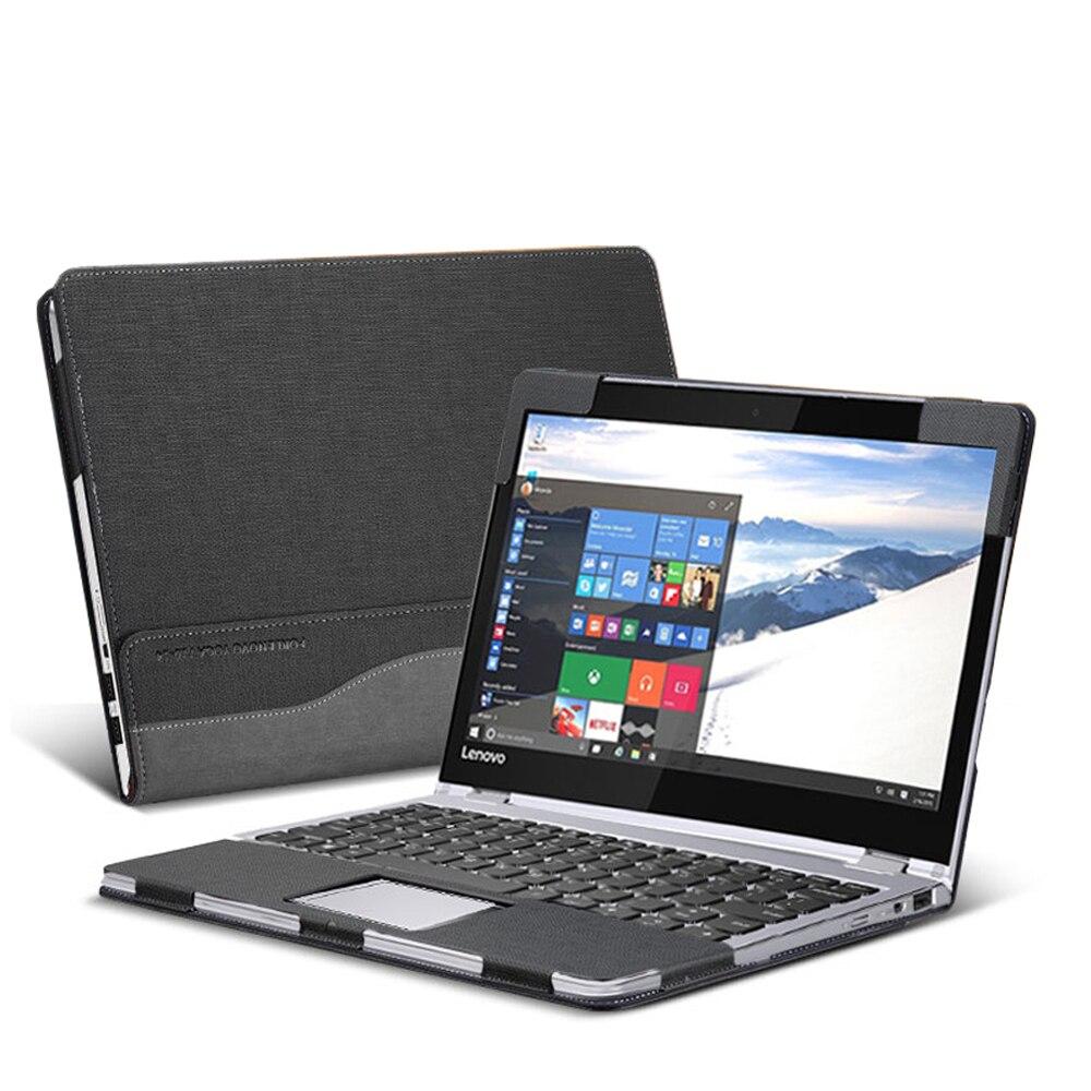 Étui de protection en cuir PU, Design créatif pour Lenovo Yoga 14 pouces, 710 étui à manches, peau de protection pour le Yoga, 710-14 cadeau