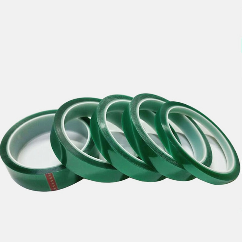 1 Roll 3mm*33M*0.06mm Green PET Tape High Temperature PCB Solder Protect
