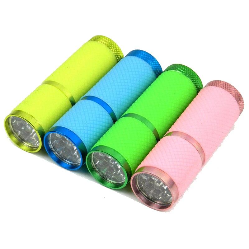 Skycoolwin lampes de poche LED 9 LED lampe perles torche LED lampe de lumière couleurs assorties 50 PCS/Lot - 3