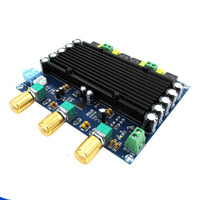 KYYSLB DC12~24V Home Audio Amplifier Board with Tone 2x150W TPA3116D2 Digital Audio Hifi Amplifier Board 2.0 Channel XH M549