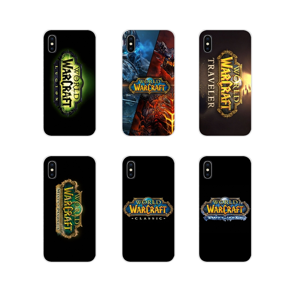 game WOW World of Warcraft logo For Samsung Galaxy A3 A5 A7 A9 A8 Star A6 Plus 2018 2015 2016 2017 Accessories Phone Case Covers image