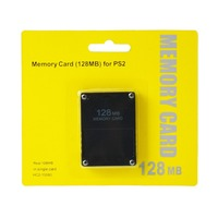 128MB Memory Card Save Game For Playstation 2 For PS2