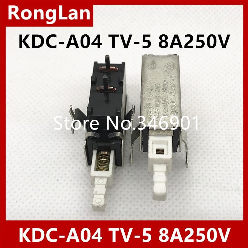 [SA] solteam выключатель питания Внешняя пружина 2 средства ухода за кожей стоп TV-8 KDC-A04 TV-5 8A 250VAC 8A128A 250V-10PCS/лот