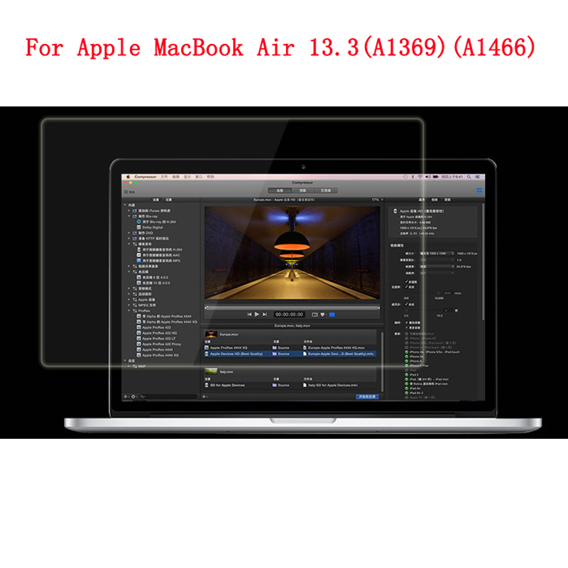 For Apple MacBook Air 13.3 A1369 A1466 Advanced Hard Nano TPU Super Impact Resist Fall S ...