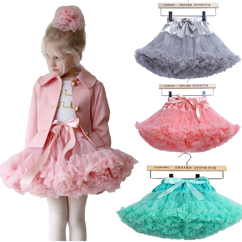Pettiskirt with Ruffle baby Tutu skirt one piece retail girl skirt ball gown children tutu kids Hallowmas ballet skirt