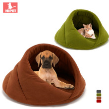 HIPET Dog Cat House Cave Portable Windproof Comfortable Polar Fleece Small Medium Large 4 Color Dogs Cats Bed Nest