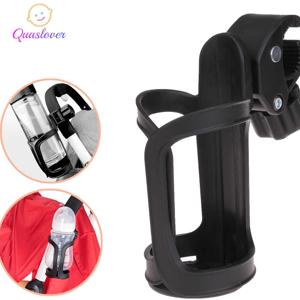 Baby Bottle Holder Stroller Accessories Stroller Milk Bottles Rack Cup Holder For Pram Bicycle Bike Child Car Trolley Cup Stand