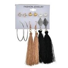 MissCyCy 25 Style Heart Flowers Infinite Symbol Stud Earrings Set 2018 New Rhinestone imitation Pearl Earrings for Women Gift