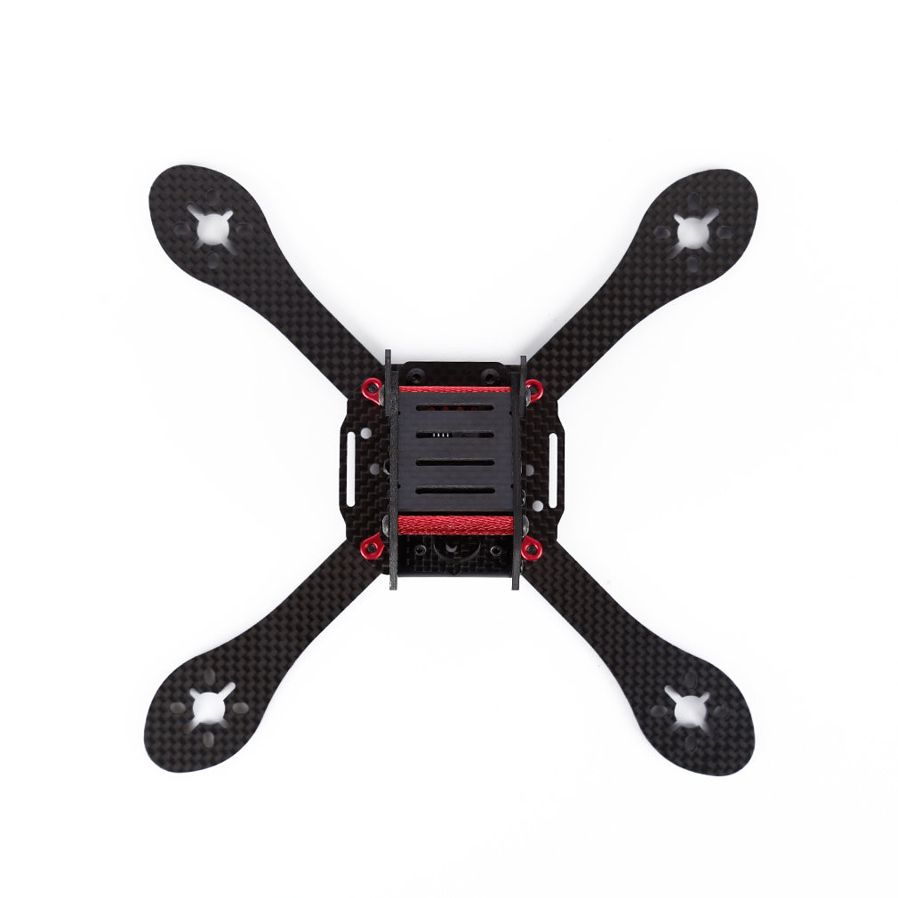 HINST Carbon Fiber Frame Bracket Racing Quadcopter GEPRC GEP-ZX4 170mm 4-Axle 3K P30 Ag14