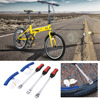 3 Pieces Motorcycle Bike Tire Hardened Automotive Steel With Polished Chrome Finish Spoon Protective Tool Combo