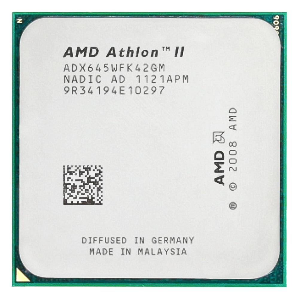 AMD Athlon II X4 645 CPU Processor Quad-CORE (3.1Ghz/ L2 2M /95W / 2000GHz) Socket Am3 Am2+