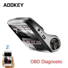 ADDKEY Новатэк 96658 автомобильный видеорегистратор камера Full HD 1080 P wifi app OBD2 Диагностический даш cam Sony IMX322 датчик ночного видения dvr рекордер