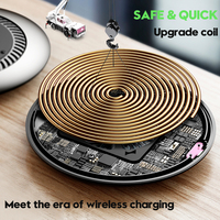 Baseus tornado Wireless Charger Silent fan Automatic radiating Qi Wireless Charging Charger For iPhone X 8 Samsung S9 S8 Huawei 4