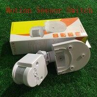 Sıcak PIR Kızılötesi Hareket Sensörü Anahtarı 9-24 V Insan Vücudu Indüksiyon Enerji Tasarrufu Hareket Otomatik Modülü Işık Algılama anahtarı HH
