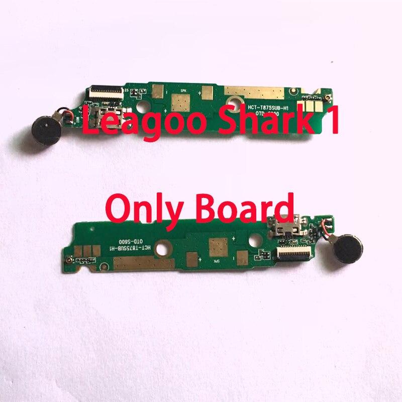 RYKKZ For Leagoo Shark 1 USB Charging Port Dock Plug Jack Connector Charge Board With Microphone + Vibrator Flex Cable Shark 1