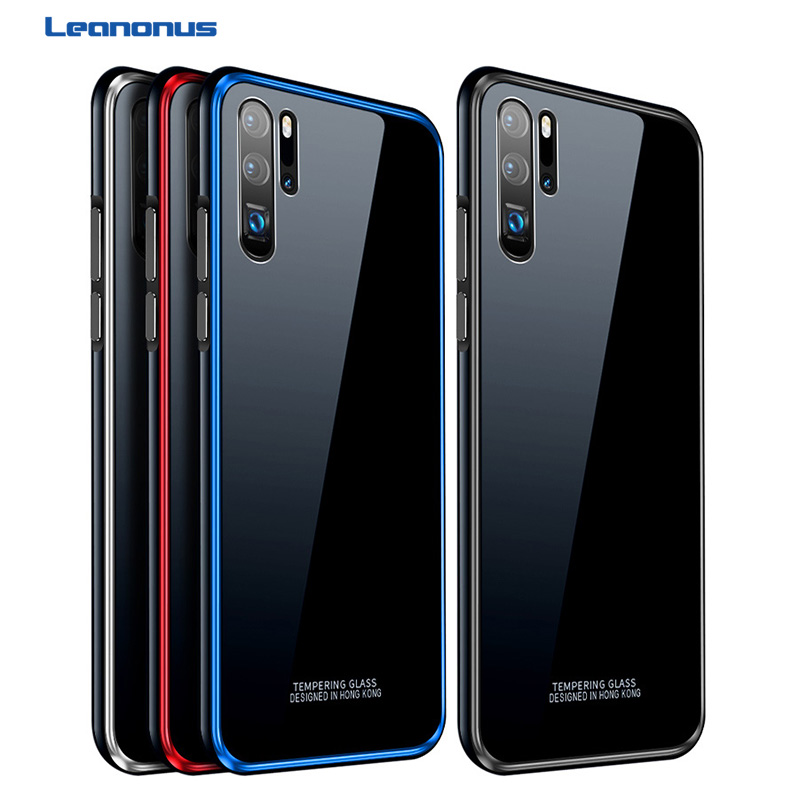 Tempered Glass Hard Case For Huawei Honor V20 10 Case Metal Bumper Plastic Hybrid Cover For Huawei Honor V10 Nova4 Capa in Fitted Cases from Cellphones Telecommunications