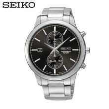 SEIKO Watch Chronograph Quartz Male Steel Strip Business And Leisure Travelers SNN275J1 SPC079J1 SPC083J1 SPC088J1 SPC087J1
