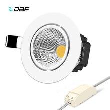 [DBF] 1 супер яркий Встроенный, светодиодный, затемненый потолочный светильник 6 W 9 W 12 W 15 W светодиодный пятно светодиодные украшения потолочный светильник AC 110 V 220 V