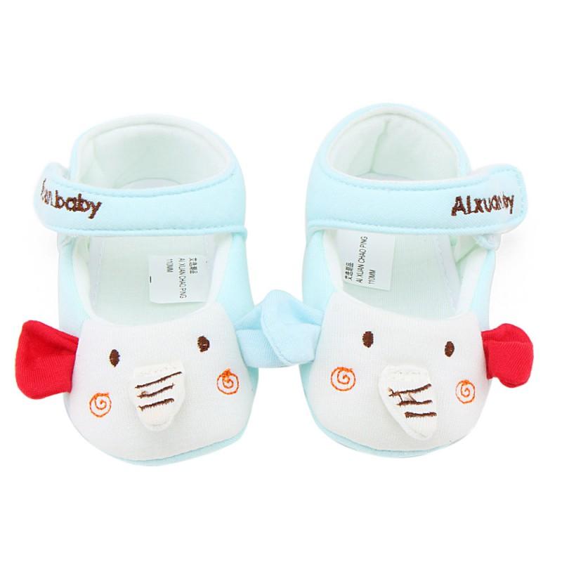 Newborn Baby Girls Cute Cartoon Design Infant Shoes Soft Cotton First Walker Baby Lovely Toddler Shoes