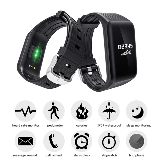 Wearpai K1 continuous heart rate monitor Smart Bracelet