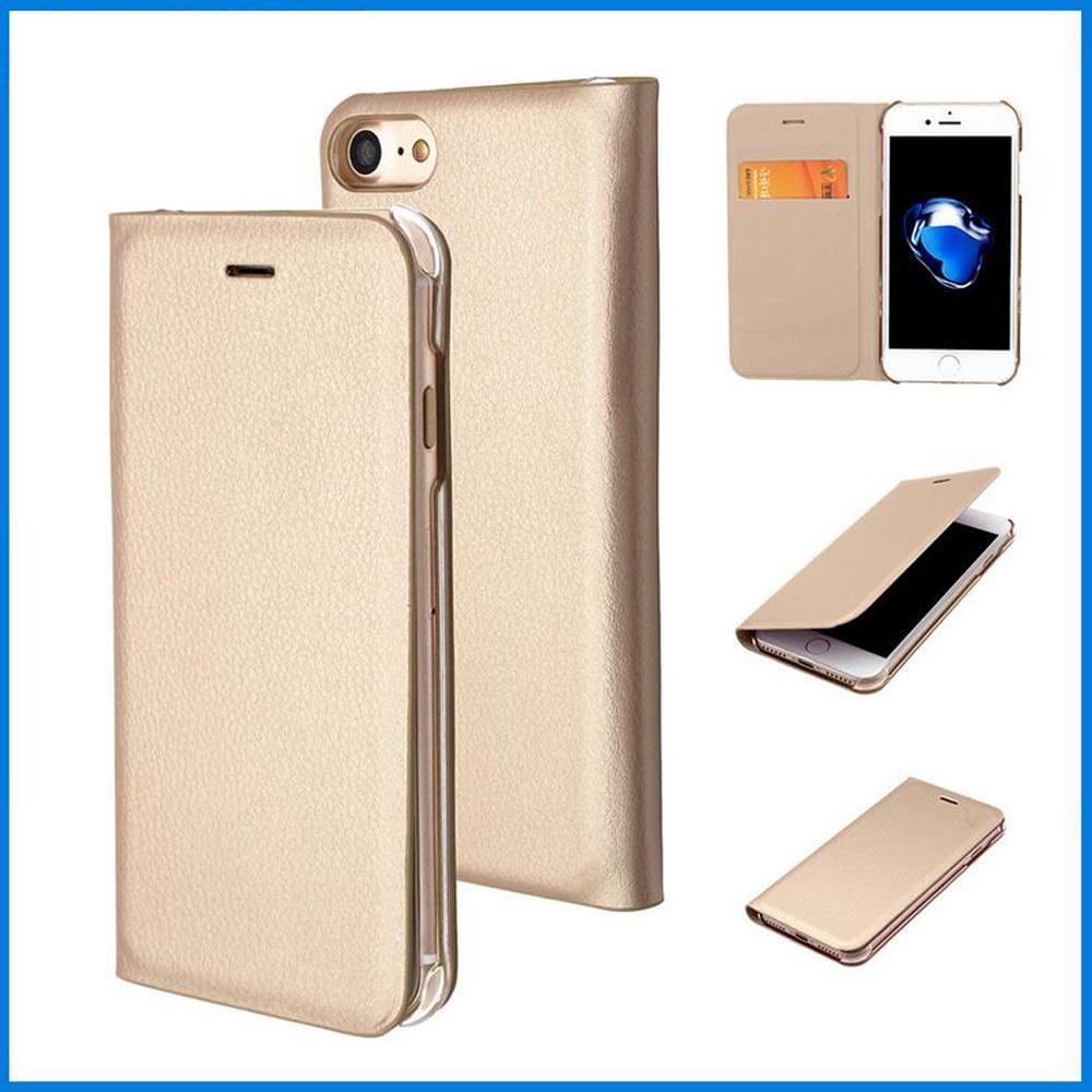 Original Flip Leather Phone Case for Apple iPhone 7 7Plus