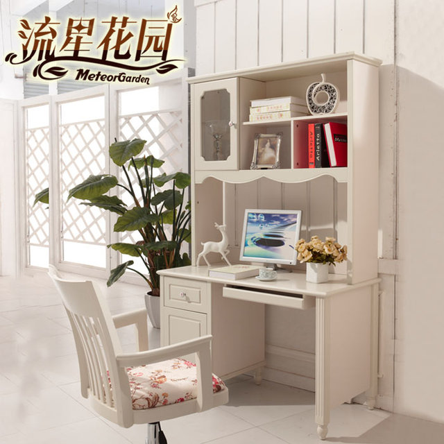 Attrayant Garden Korean Countryside Bedroom Desk Combination Bookcase Desk Study Desk  Furniture Children