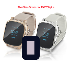 1 Piece HD LCD Screen for T58 Replacement Glasses Screen for GPS Smart Watch T58 Screen