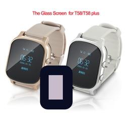 Tela lcd original para relógio inteligente t58, smartwatch para bebê, gps, substituição, tela de vidro hd para relógio inteligente, rastreador de idosos relógio de pulso