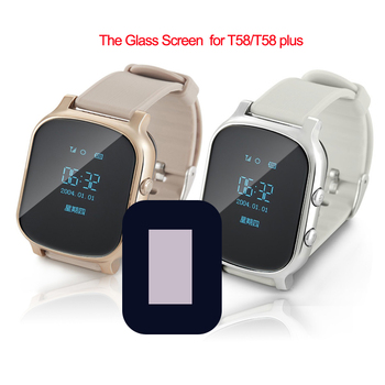 цена на Original LCD Screen for Smart Watch T58 Baby GPS Watch Replacement HD Glass Screen for Smart Watch GPS Tracker Elder Watch