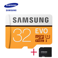 New Product 100 Original SAMSUNG EVO Memory Card Micro SD TF Card 32GB Class10 U1 Read