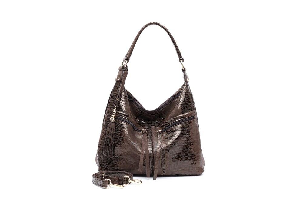 para o sexo feminino grande espaçoso brilhante em relevo tote bolsas