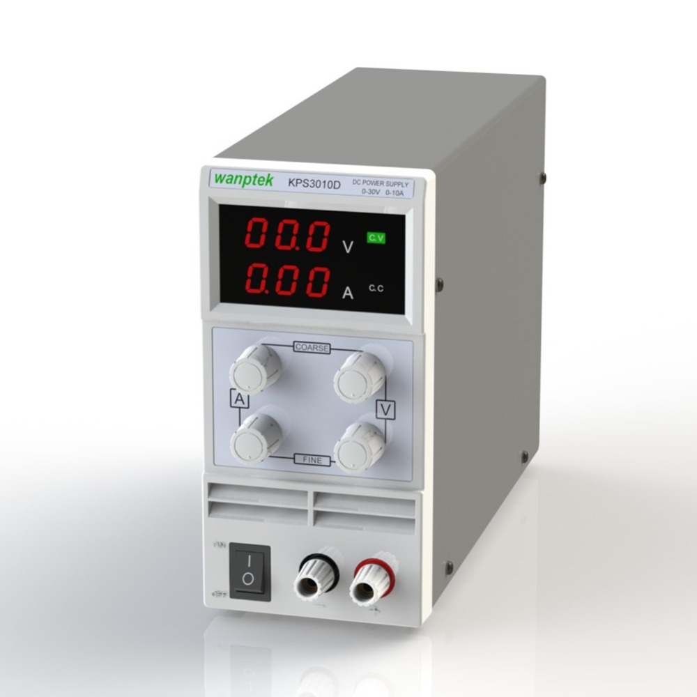 New Mini DC Power Supply 30V 10A Display Adjustable Switching Power Supply Voltage Regulator KPS3010D US