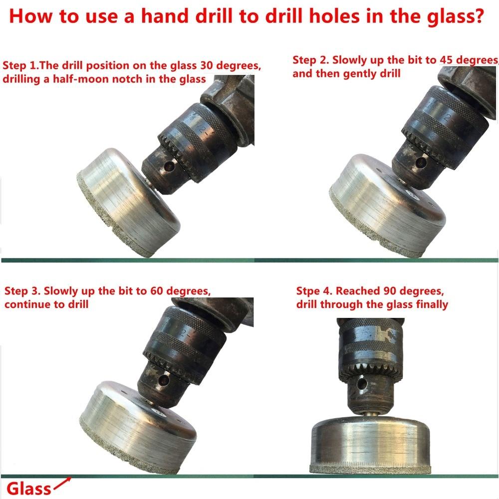 60-80 mm diamant gatenzaag kernboor glas gecoat metselwerk boren - Boor - Foto 6