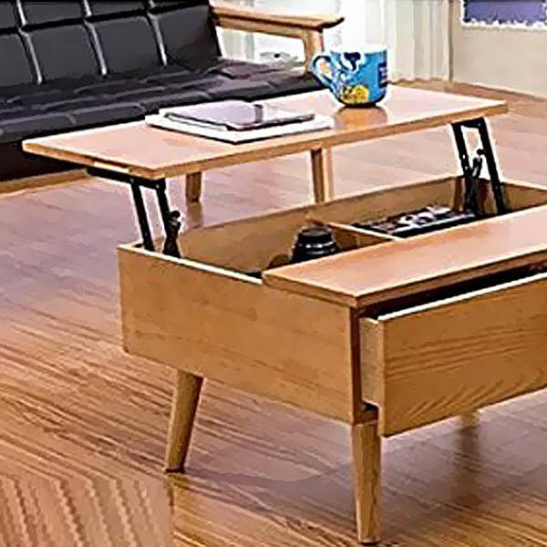 Online Shop Force Lift Support Furniture Lift Up Coffee Table