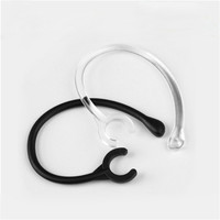 Malloom 2017 New Arrival 6pc Ear Hook Loop Replacement Bluetooth Repair Parts One size fits most 6mm for Samsung for LG #LYFE23 Earphone Accessories