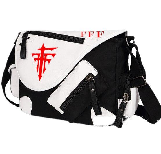 ФОТО Anime Cosplay FFF Mihnah Messenger Bag Canvas Boys Girls Travel Crossbody Shoulder Bag