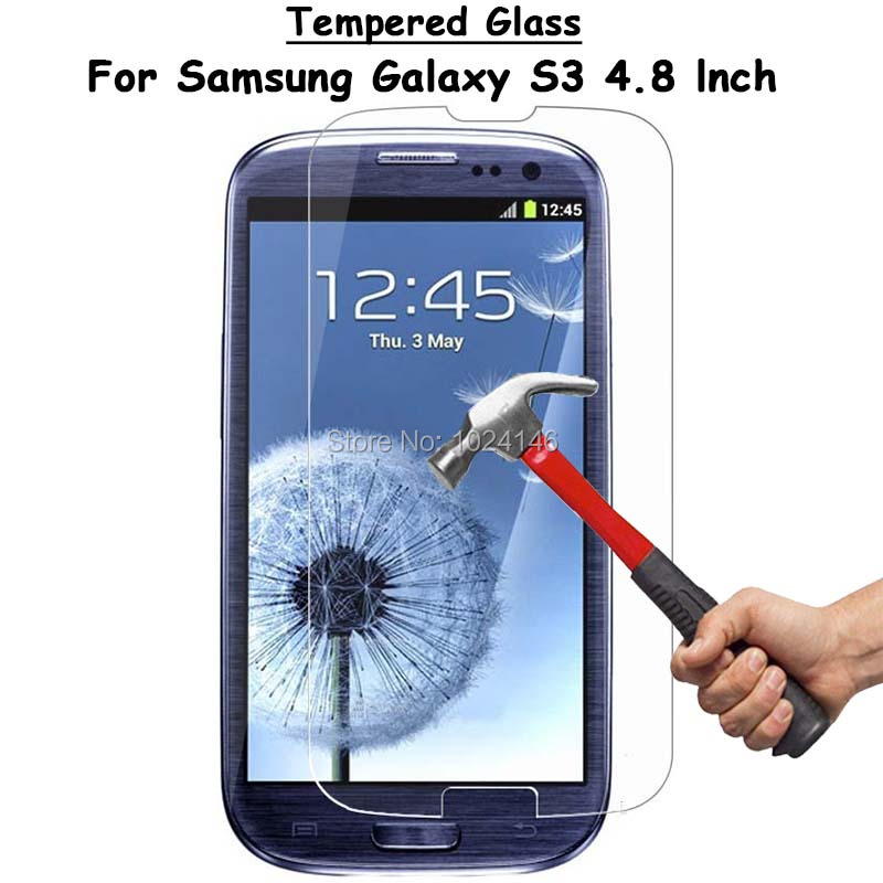 For Samsung Galaxy S3 i9300 Clear Tempered Glass Screen