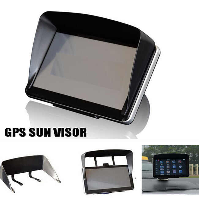 GPS Navigation Accessories 4.3 / 5 / 7 / Inch Frame GPS Universal Sunshade Sun Shade GPS Screen Visor Hood Block