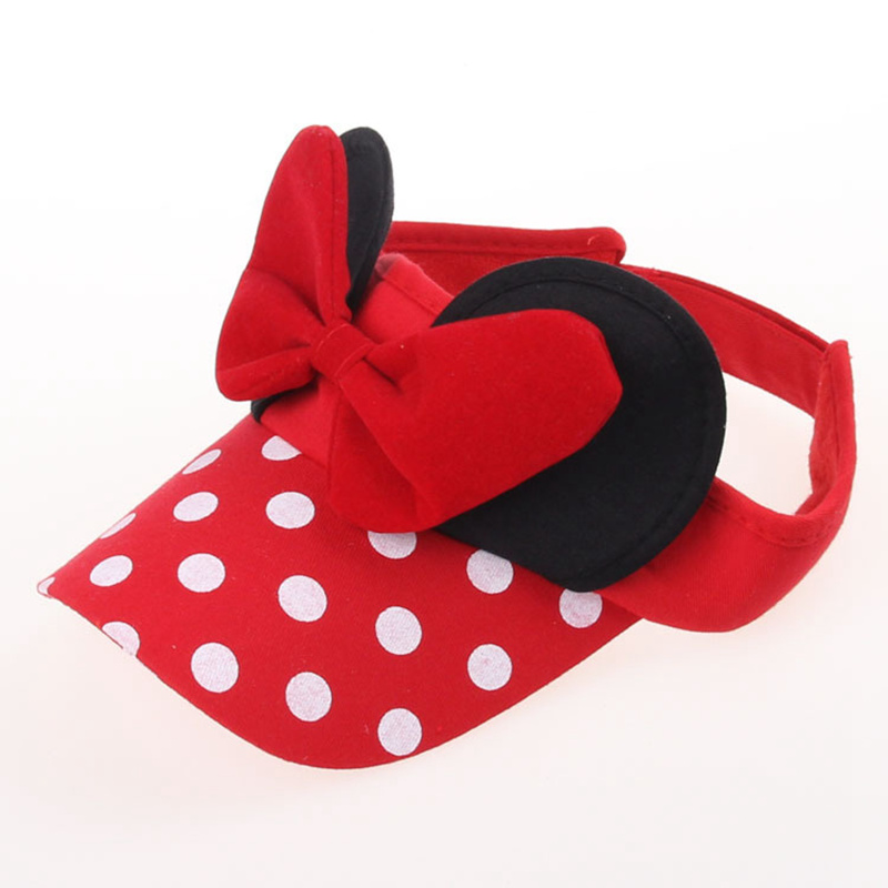 Detail Feedback Questions about Summer Visors for kids Girls Boys Mini Mouse  Cotton Lovely Cartoon Bow Hat Sport Cap Adjustable Casual Baseball Hat Keep  Sun ... 36adf3445ac5