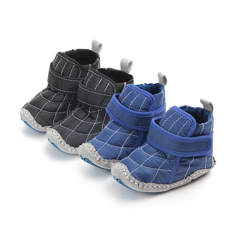 Baby Shoes Autumn Winter For Boy Kids Soft Sole Anti-slip First Walkers Casual Walking Crib Shoes Boys 2018 New
