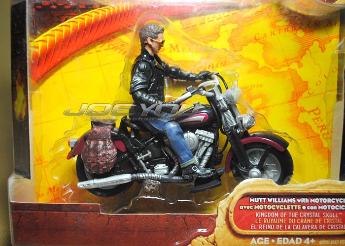 10CM High Classic Toy Raiders of the Lost Ark Indiana Jones William Harley jacket action figure Toys