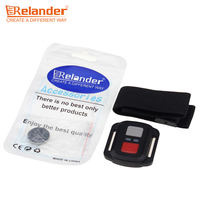 Crelander Action Camera Accessories Video Camera Remote Control 2 4G Remote Controller With Wrist Band For