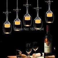 Free Shipping Modern Restaurant Pendant Light 5 Lights Acrylic 85V 240V