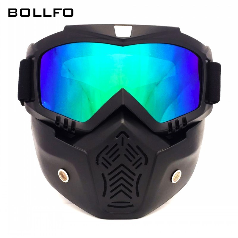 New Outdoor Motocross Eyes Potective Goggles Mask Skiing Wind-proof Spectacles Hiking Eyewear Anti UV Breathable Safety Glasses