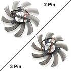 95MM Power Logic PLD10010S12H Fan Cooling Radeon HD 7750 7790 R9 285 Graphics Card Fan 12V 0.3A 2Pin 3Pin Long Wire Cooler Fans