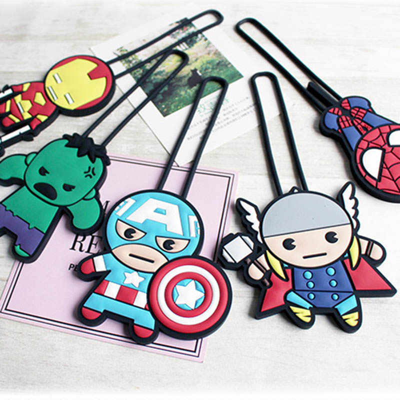 Aksesoris Perjalanan Kartun Silica Gel Iron Man Bagasi Wanita Portable Label Koper ID Alamat Pemegang Bagasi Boarding