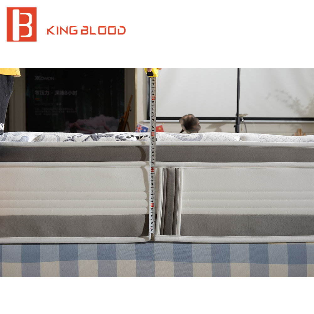 High End China Factory Pocket Spring Best Price Mattress In